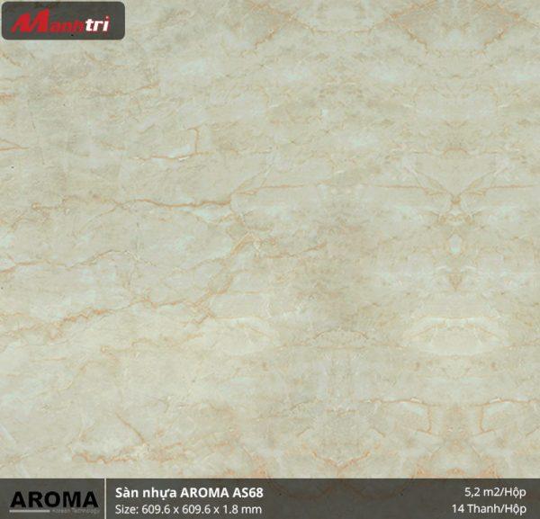 sàn nhựa Aroma AS68