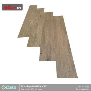 sàn nhựa Glotex V251 hình 1