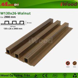 iWood ốp tường W130x26-walnut-1