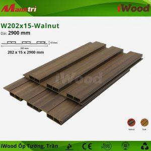 iwood ốp tường W202x15-Walnut-2