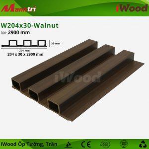 iWood ốp tường W204x30-walnut-1