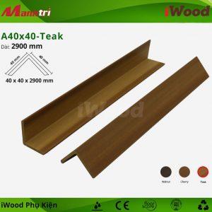 iWood phụ kiện A40x40-Teak hình 1