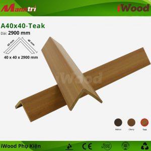 iWood phụ kiện A40x40-Teak hình 2