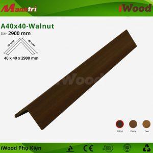 iWood phụ kiện A40x40-Walnut hình 1