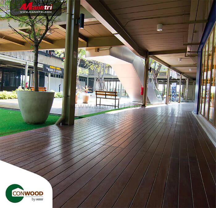 Conwood với màu sắc trang nhã, sang trọng đem đến một không gian sống thân thiện và tiện nghi.