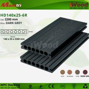 lót sàn iWood HD140x25-6R-dark grey hình 2