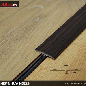Nẹp nhựa NS229