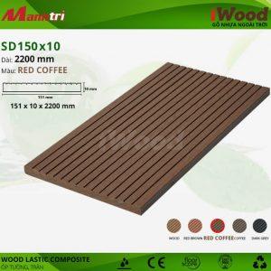 ốp tường iwood SD150x10-Red Coffee hình 1