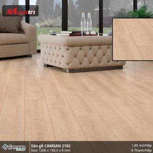 Sàn gỗ Camsan 2102