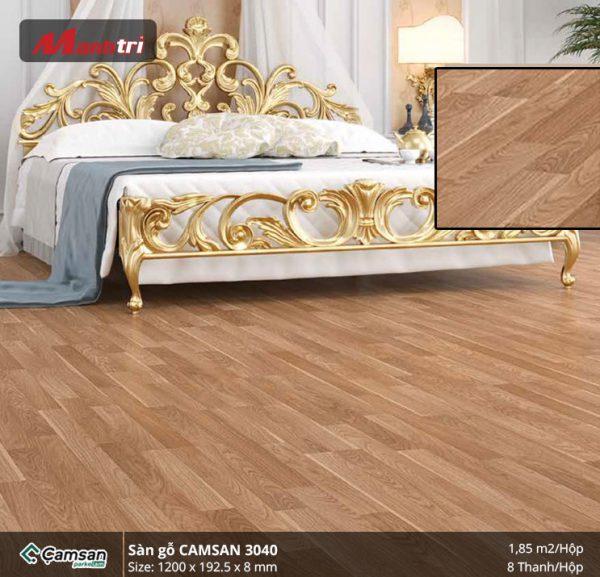 Sàn gỗ Camsan 3040