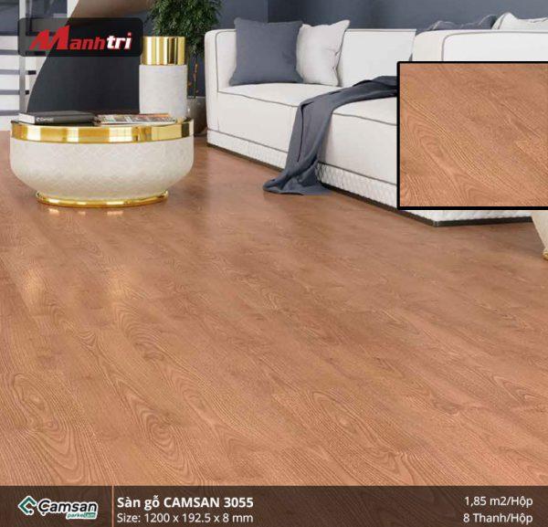 Sàn gỗ Camsan 3055