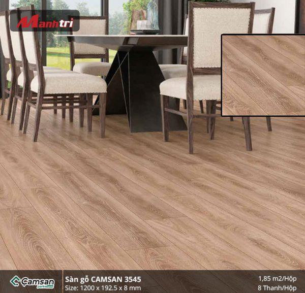 Sàn gỗ Camsan 3545