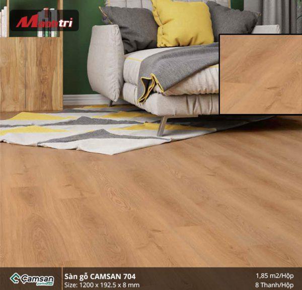 Sàn gỗ Camsan 704