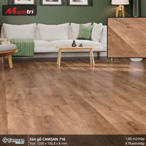 Sàn gỗ Camsan 716