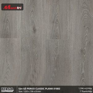 sàn gỗ pergo Classi plank 01802 hình 1