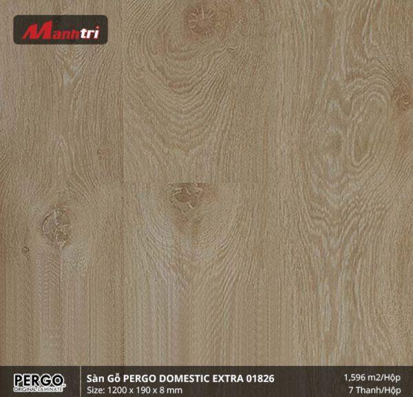 sàn gỗ pergo Domestic Extra 01826 hình 1