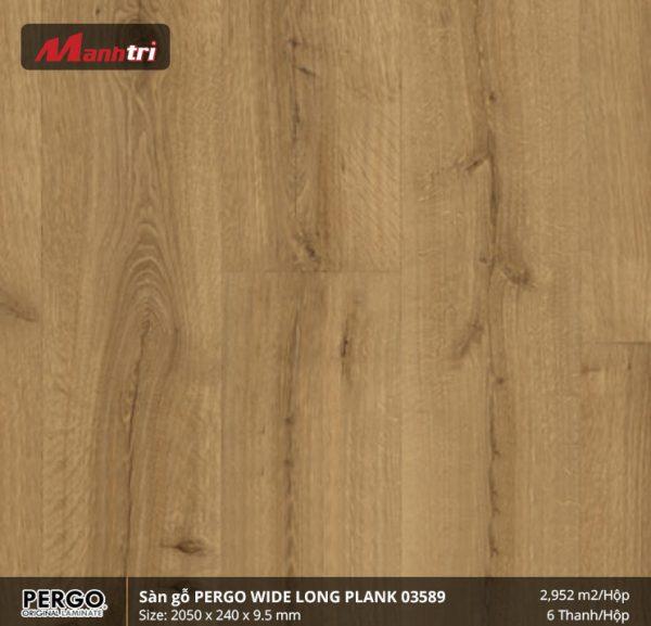 sàn gỗ Pergo Widelongplank 03589