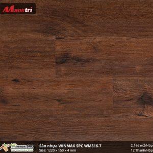 Sàn nhựa hèm khóa Winmax SPC WM316-7 hình 1