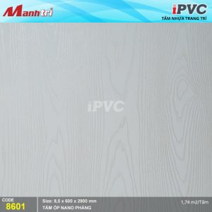 Tấm nhựa iPVC phẳng 8601 hình 1