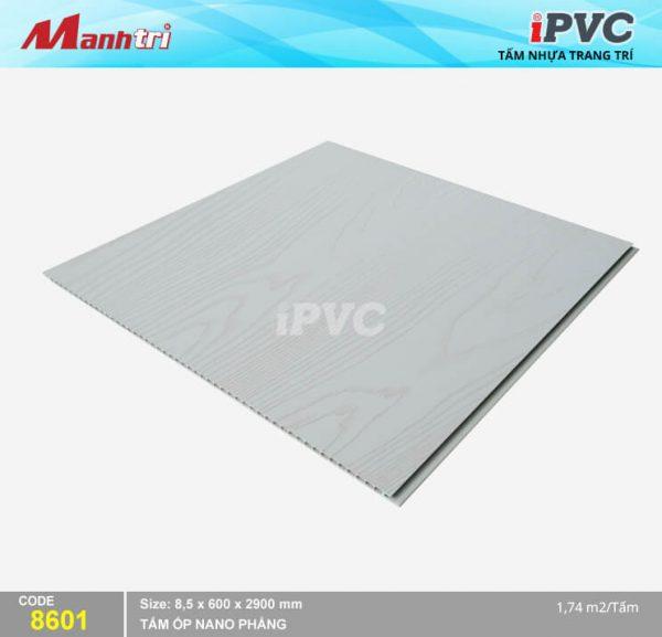 Tấm nhựa iPVC phẳng 8601 hình 2