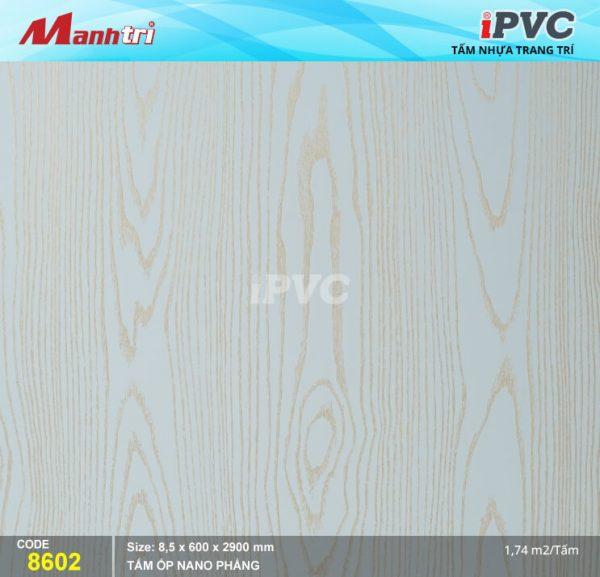 Tấm nhựa iPVC phẳng 8602 hình 1