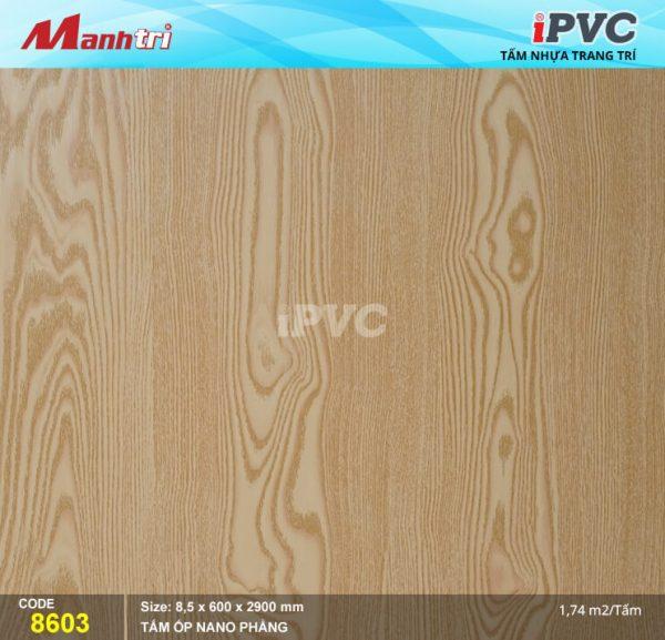 Tấm nhựa iPVC phẳng 8603 hình 1