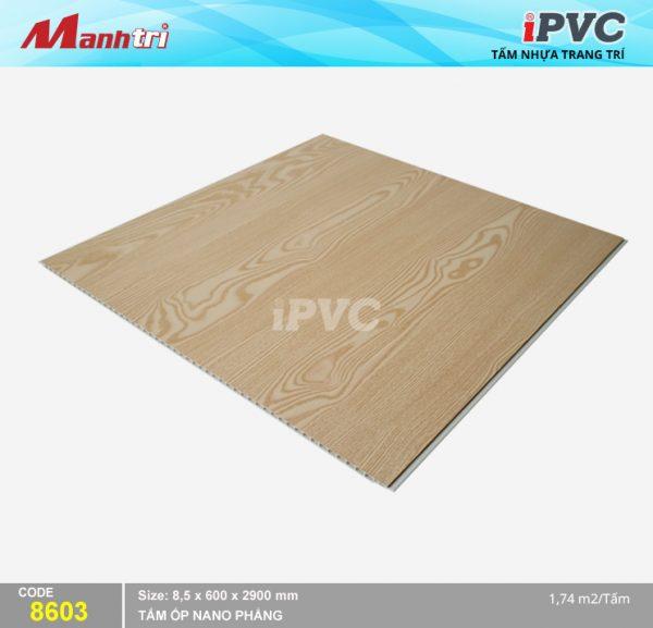 Tấm nhựa iPVC phẳng 8603 hình 2