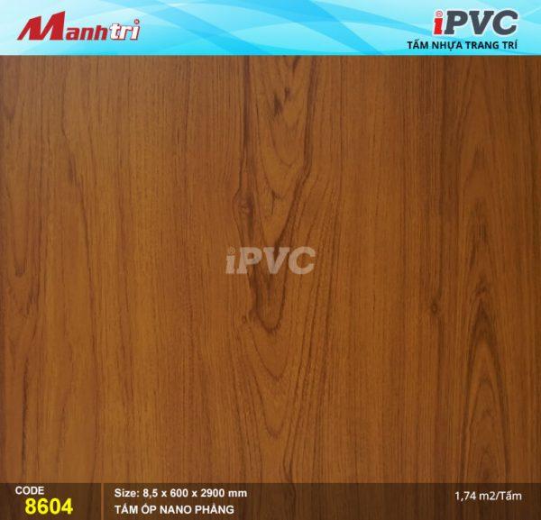 Tấm nhựa iPVC phẳng 8604 hình 1