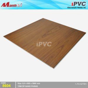 Tấm nhựa iPVC phẳng 8604 hình 2