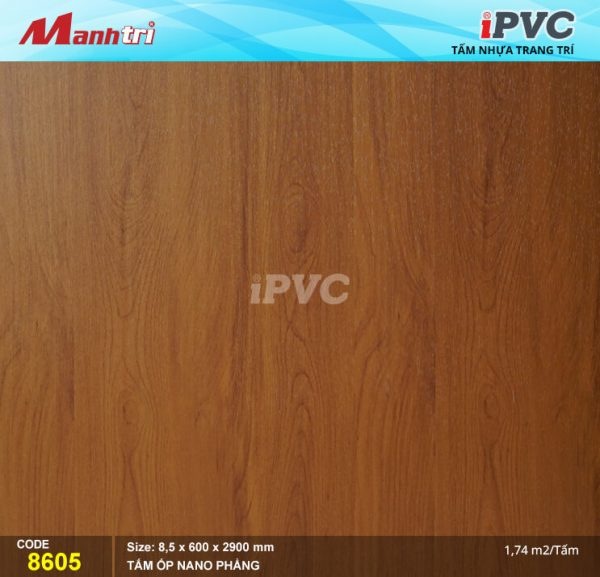 Tấm nhựa iPVC phẳng 8605 hình 1