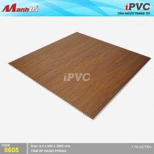 Tấm nhựa iPVC phẳng 8605 hình 2