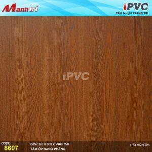 Tấm nhựa iPVC phẳng 8607 hình 1