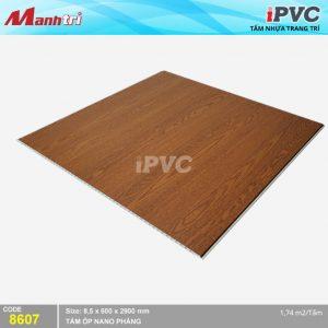 Tấm nhựa iPVC phẳng 8607 hình 2