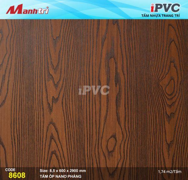 Tấm nhựa iPVC phẳng 8608 hình 1