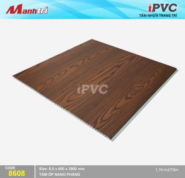 Tấm nhựa iPVC phẳng 8608 hình 2