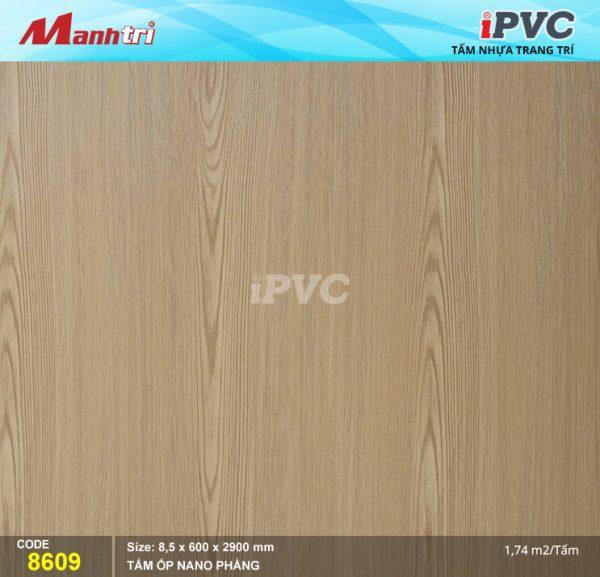 Tấm nhựa iPVC phẳng 8609 hình 1