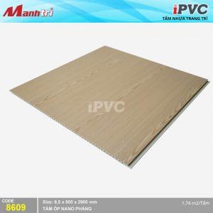 Tấm nhựa iPVC phẳng 8609 hình 2