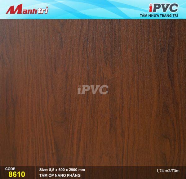 Tấm nhựa iPVC phẳng 8610 hình 1
