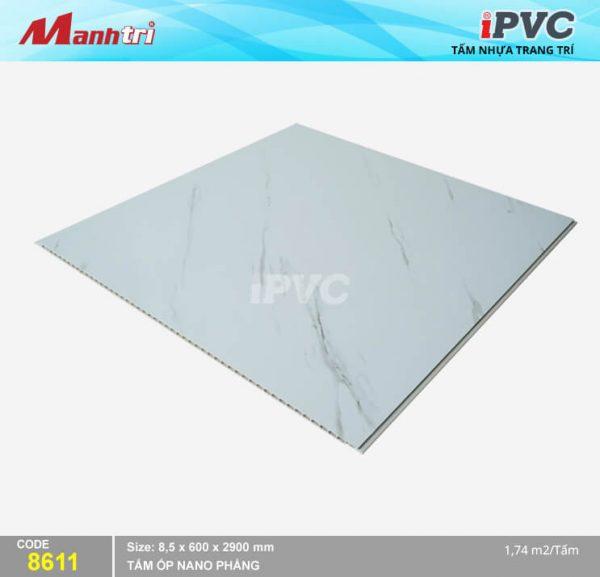 Tấm nhựa iPVC phẳng 8611 hình 2