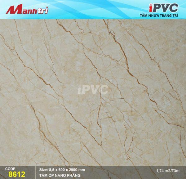 Tấm nhựa iPVC phẳng 8612 hình 1
