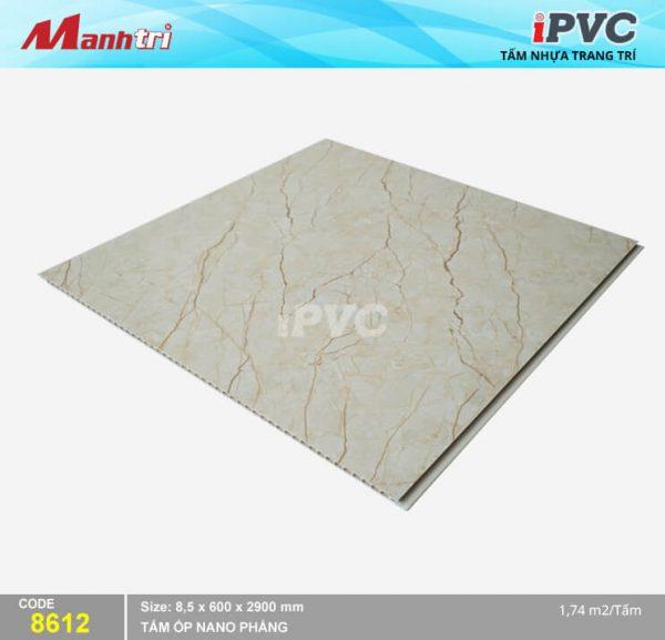 Tấm nhựa iPVC phẳng 8612 hình 2