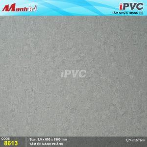 Tấm nhựa iPVC phẳng 8613 hình 1