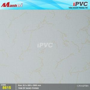 Tấm nhựa iPVC phẳng 8614 hình 1