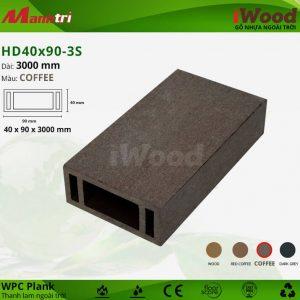 thanh lam iwood HD40-90-3S-Coffee hình 2