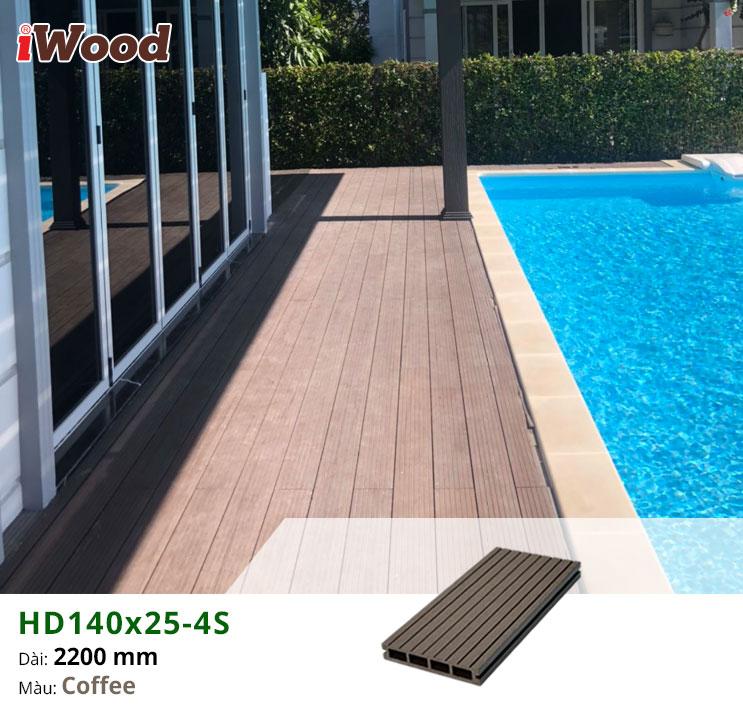 thi công iWood HD140x25-4S-Coffee hình 1