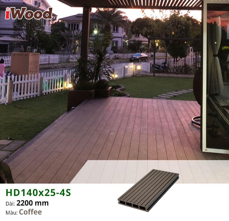 thi công iWood HD140x25-4S-Coffee hình 2