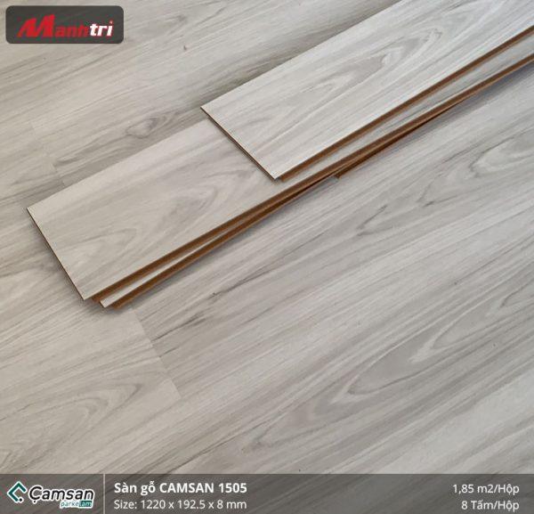 thi công sàn gỗ Camsan 1505 2