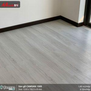 thi công sàn gỗ Camsan 1503
