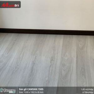 thi công sàn gỗ Camsan 1505 8