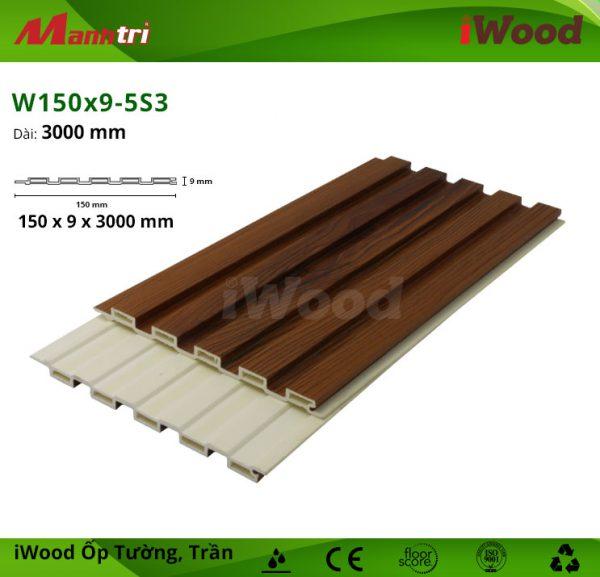 iWood W150x9-5S3 hình 3